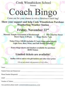 Coach Bingo Sign Up 11-2013