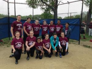 CW Girls Softball Spring 2014