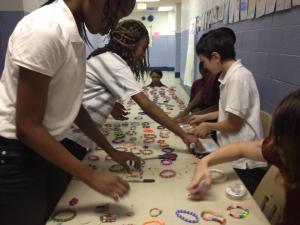Need in Deed Award 2014-Selling Bracelets