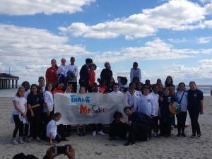 CW Choir on Beach