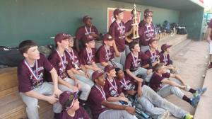 CW Boys Baseball Champs 2015
